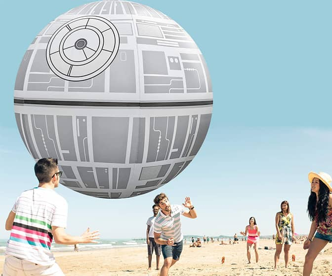 Giant Death Star Beach Ball - 6 Feet!