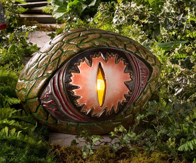 Giant Dragon's Eye Candle Holder