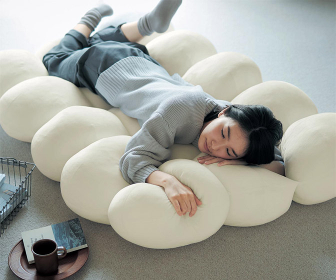 Giant Fluffy Cloud Nap Cushion