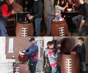 Giant Football Cooler