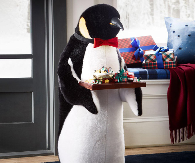 Giant Penguin Butler