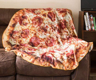 Giant Pizza Blanket