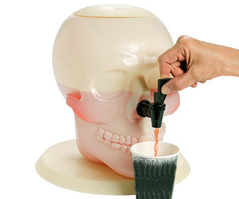 Giant Skull Drink Dispenser