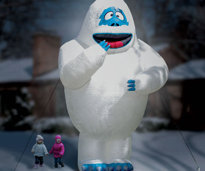 Gigantic 15 Foot Inflatable Bumble the Abominable Snow Monster