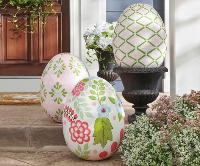 Gigantic Easter Eggs