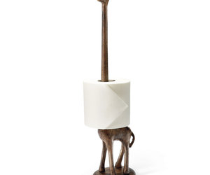 Giraffe Paper Towel / Toilet Paper Holder