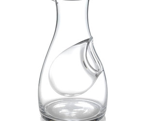 Glass Carafe With Ice Compartment
