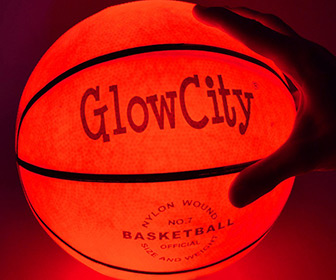 GlowCity Light Up LED Basketball