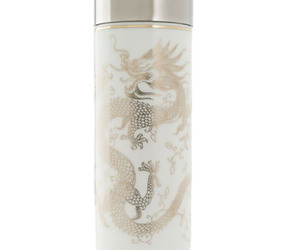 Golden Dragon Bone China Tea Tumbler