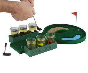 Golf Shot Glass Drinking Game Set