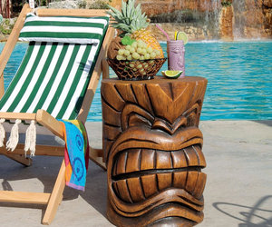 Grand Tiki Head Sculptural Table