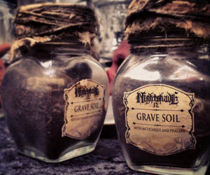 Grave Soil in a Jar