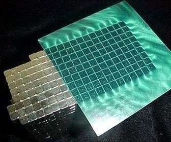 Green Magnetic Field Viewing Film