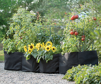 Grow Bag Trough Planter