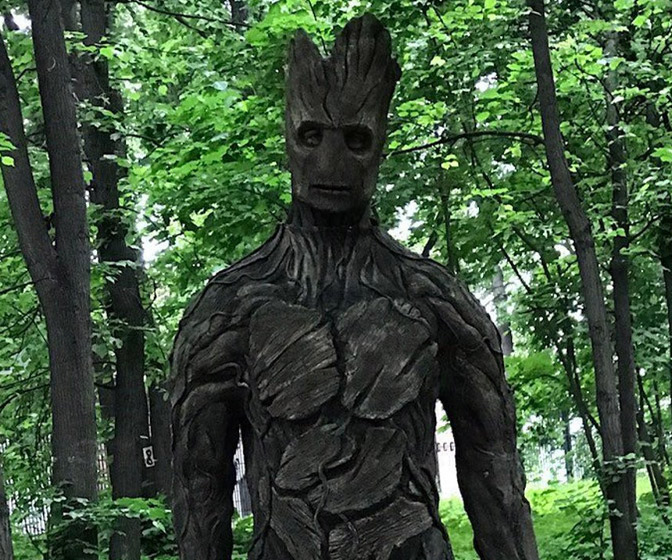 Guardians of the Galaxy Full Groot Suit Cosplay Costume