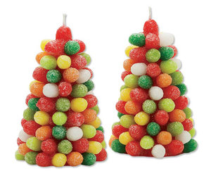 Gumdrop Tree Candles