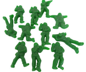 Gummi Army Guys