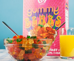 Gummy Bears Breakfast Cereal - All Gummy Bears!