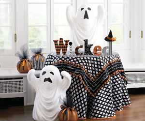 Halloween Ghost Statues