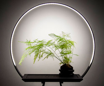 Halo Light Planter
