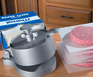 Hamburger Patty Press - Perfect Burger Patties Every Time!