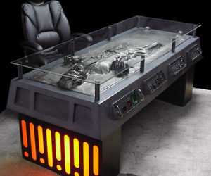Han Solo Frozen in Carbonite Desk