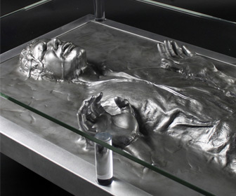 Han Solo Frozen In Carbonite Coffee Table