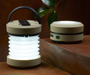 Hand-Crank Accordion Lantern