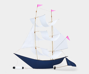 Handmade Sailing Ship Kite