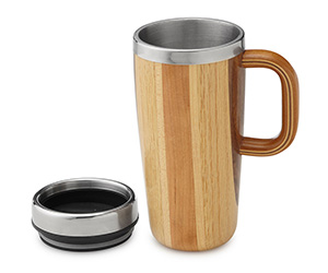 Handmade Wooden Travel Mug