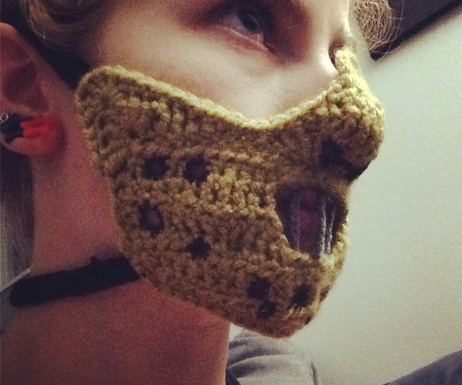 Hannibal Lecter Mask Face Warmer
