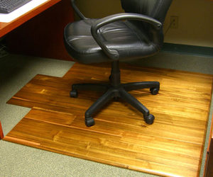 Hardwood Office Chair Mat