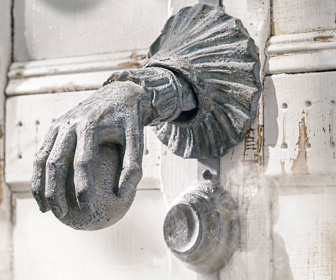 Haunted Door Knocker