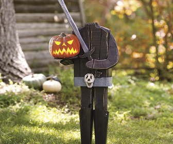 Headless Horseman Pumpkin Holder