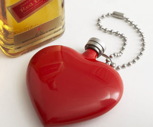 Heart-Shaped Flask