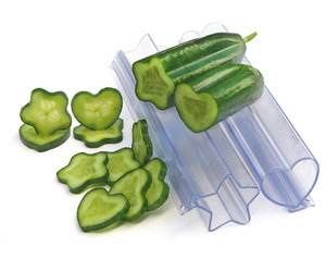 Heart And Star Vegetable and Fruit Molds