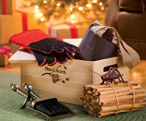 Hearth Lover's Kit in Wooden Gift Box