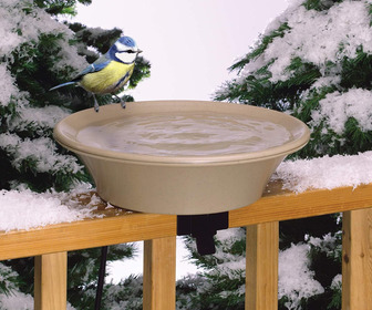 Heated Bird Bath With Tilt Mount