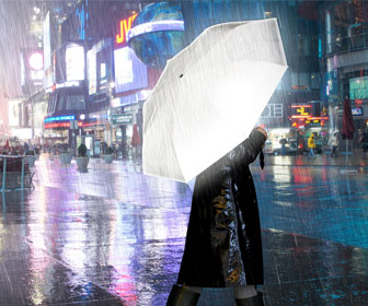 Hi-Reflective Umbrella - Be Seen At Night