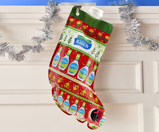Hidden Valley Ranch-Filled Stocking