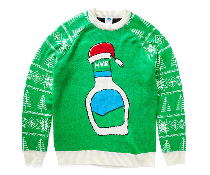 Hidden Valley Ranch Ugly Green Holiday Sweater