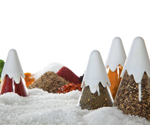 Himalaya - Mountain Range Spice Containers