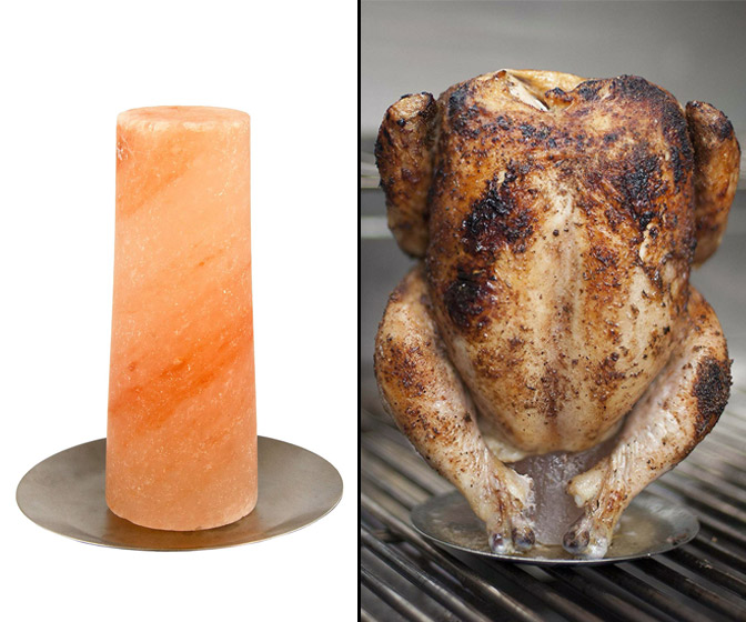 Himalayan Salt Vertical Chicken Roaster