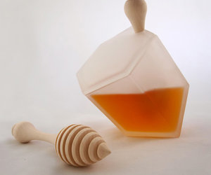 Hive Honey Set - Frosted Glass