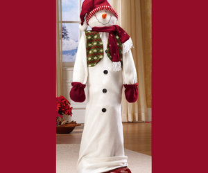 Holiday Snowman Vacuum Cleaner Cover