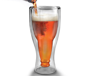Hopside Down - Bottle-in-a-Glass Beer Glasses
