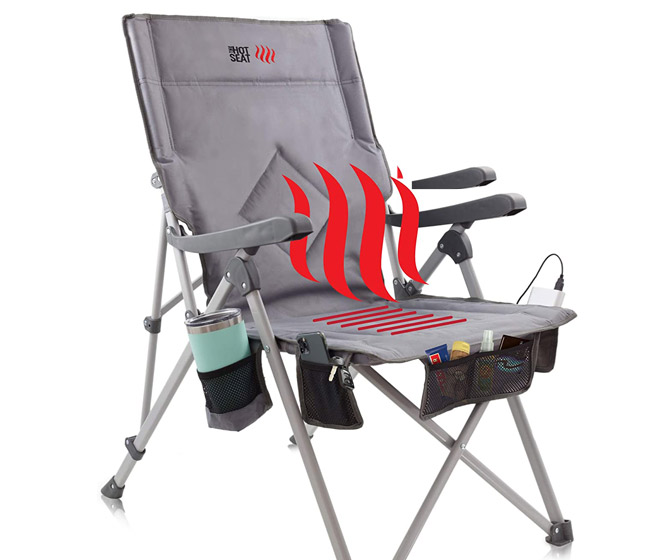 The Hot Seat - Portable Heated Chair
