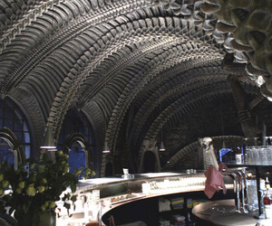 HR Giger Museum Bar