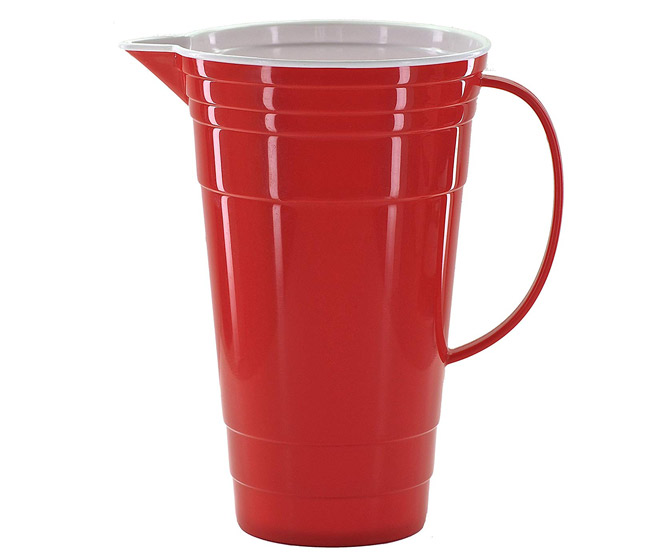 Huge Red Party Cup Pitcher