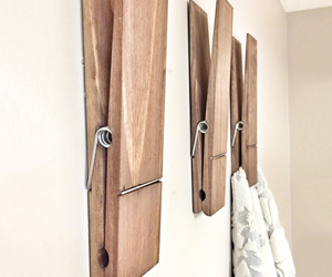 Huge Rustic Clothespins